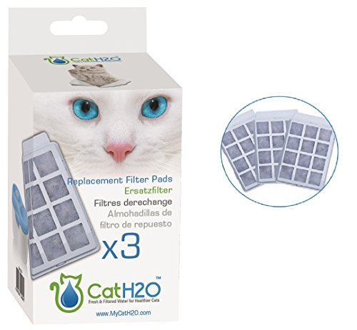 CatH2O & Dog H20 3 Piece Replacement Filter Pads