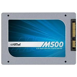 Crucial M500 2.5インチ 内蔵型 SATA6Gbps 240GB CT240M500SSD1
