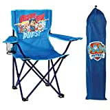 Nickelodeon Paw Patrol Fold N' Go Chair with Storage Bag, Blue