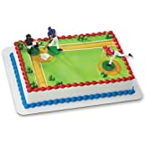 Baseball-Batter Up DecoSet Cake Decoration