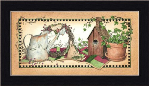 Corduroy Quilt by Linda Spivey Country Still Life 13.5x7.5 in Art Print Framed Picture Linda Spivey Country Framed Picture