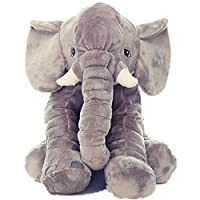 Rainbow Fox Long Nose Elephant Lumber Back Support Cushion Animal Stuffed Plush Soft Toys Doll for Kids Children Toddler Gifts
