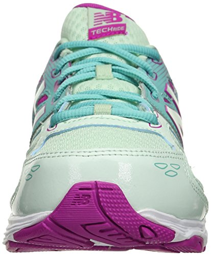 New Balance KR680 Youth Running Shoe (Little Kid/Big Kid) Green/Purple