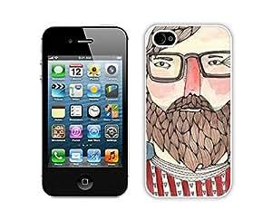 BINGO cheap price Charlie iPhone 4 4S Case White Cover