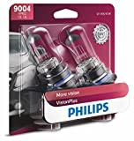 1990 geo prizm headlight assembly - Philips 9004 VisionPlus Upgrade Headlight Bulb, Pack of 2