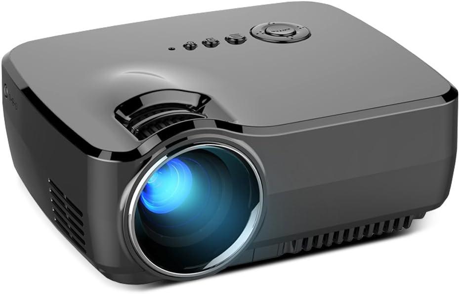 GUORZOM Portable Mini LCD Proyector De Alta Definición 1800 Lumen ...