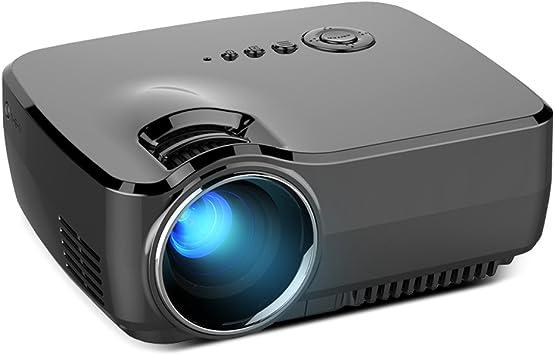 GUORZOM Portable Mini LCD Proyector De Alta Definición 1800 ...
