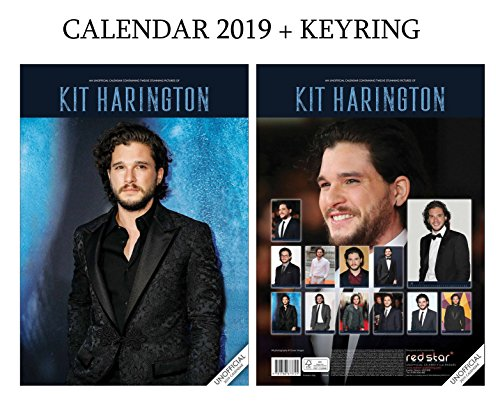 Kit Harington Calendar 2019  A3 Poster Size    Kit Harington Keyring