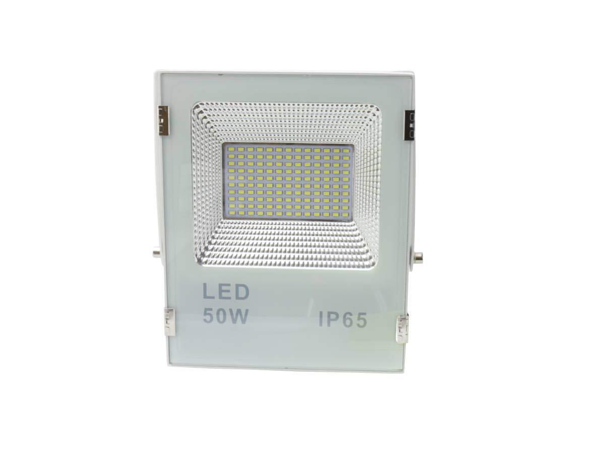 Jandei - Proyector led slim 50W exterior IP65 SMD5730 6000K blanco ...