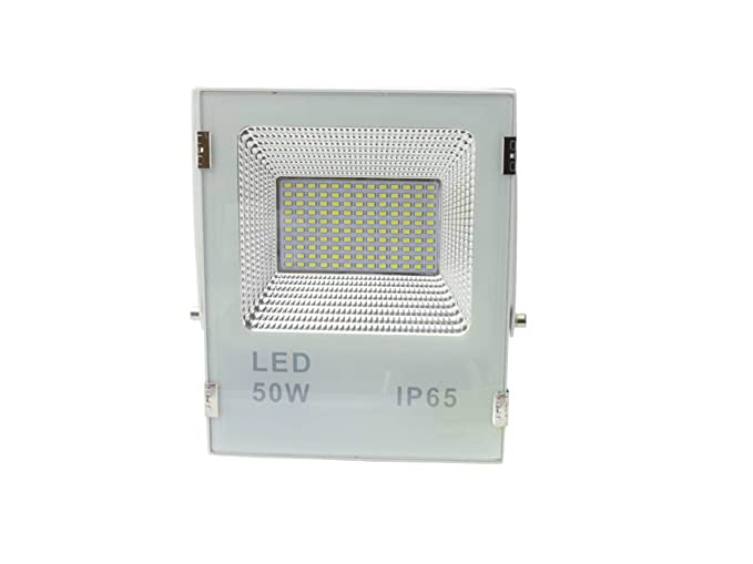 Jandei - Proyector led slim 50W exterior IP65 SMD5730 6000K ...