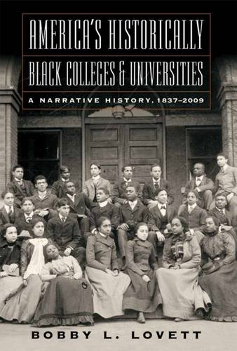 Books : America's Historically Black Colleges and Universities: A Narrative History, 1837-2009 (America's Historically Black Colleges and Universitites)
