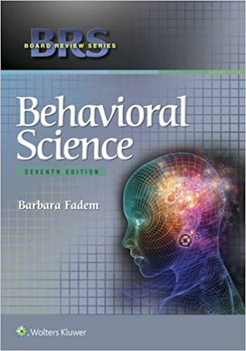 Buy brs behavioral science (board review series) book online at.
