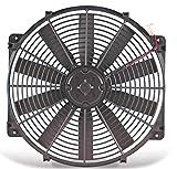 "Flex-a-lite 114 Black 14"" Trimline Electric Fan (reversible)"