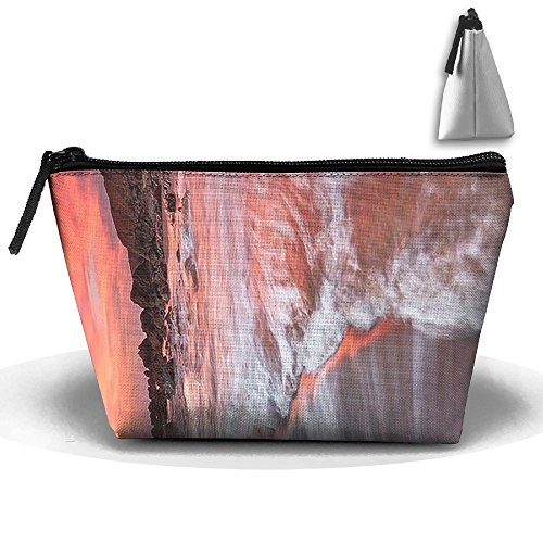 Portable Bodega Bay Sunset Pretty Accessories Storage Travel Bag Makeup Case For Cosmetics Brushes Toiletries Travel Accessories