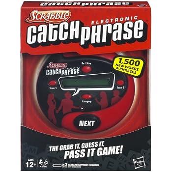 Hasbro Scrabble Catch Phrase