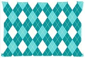 Funny Argyle patrones funda de almohada–Funda de almohada con cremallera, almohada Protector, mejor pillow cover–estándar de tamaño 20x 30inches, twin-sides impresión