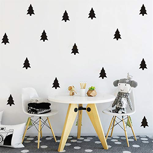 lanken Vinyl Wall Art Inspirational Quotes and Saying Home Decor Decal Sticker Cute Woodland Pine Tree Cactus Nursery Forest Kids Bedroom Natural Decoration ()