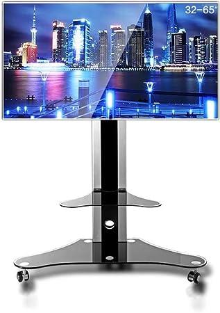 HANG Carro Universal para TV, Soporte para televisor de 32-65 Pulgadas LCD LED Tvs 360º de Giratorio con Mueble de Freno Soporte para TV de Panel Plano: Amazon.es: Hogar