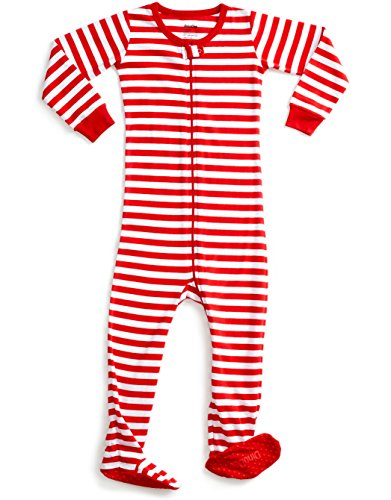 DinoDee Baby Boys Girls Footed Pajamas Sleeper 100% Cotton Kids Pjs (6 Months-5 Toddler)