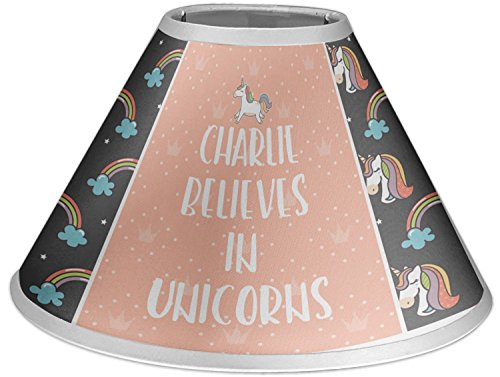 RNK Shops Unicorns Coolie Lamp Shade (Personalized) by RNK Shops