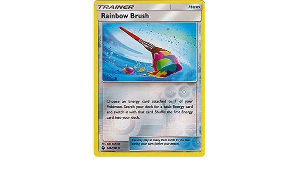 4 x Rainbow Brush Trainer - Uncommon Celestial Storm 141//168