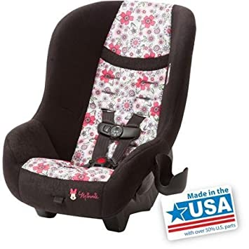 Cosco Scenera NEXT Convertible Car Seat Minnie Coral Flowers