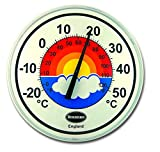 Brannan Wall Thermometer Large 300mm Dial Patio Garden Outdoor Indoor