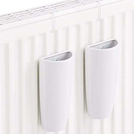 Denny Shop 2Pc Ceramic Radiator Hanging Humidifiers Set For Home Air Water Humidity Control By Crystals®