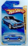 Hot Wheels 2010-033/240 New Models 33/44 '71 Maverick Grabber BLUE 1:64 Scale