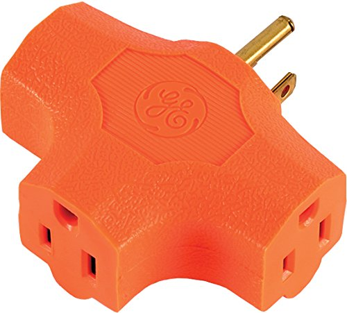 GE 50281 3 Grounded T Shaped Adapter