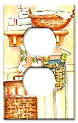 Art Plates - Socks Switch Plate - Outlet Cover