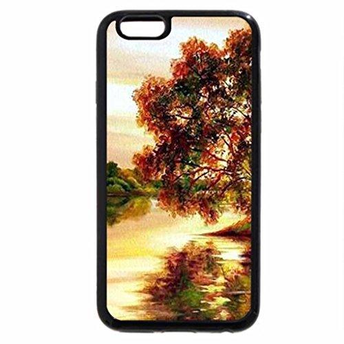 iPhone 6S Case, iPhone 6 Case (Black & White) - E.Samarskaya. Landscape