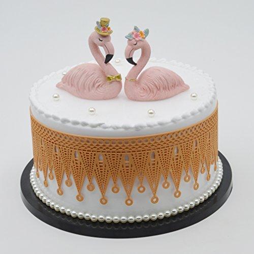 1PCS Crown Shape Lace Cake Border Decoration Fondant Cake Decorating Mold For Birthday Wedding