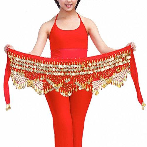 Style Ceinture Jupe Belly Dance avec Écharpe 320 8 nbsp;pièces Hip 8wqgqaTS