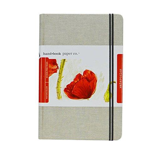 Global Art Materialien 5–1 4-Zoll von 8–1 4-Zoll Travelogue Aquarell Buch, groß Querformat Buch Large Landscape weiß B00KTJ4R3I Zeichenblcke & -bücher Heißer Verkauf