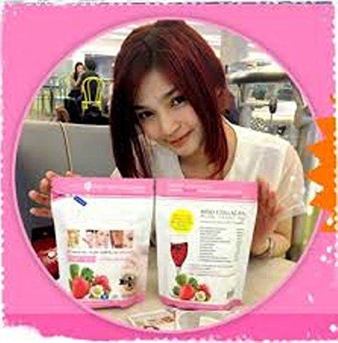 3 X Hiso Collagen Plus 15000 Mg Aura Whitening Skin Care Glutathione Anti Aging