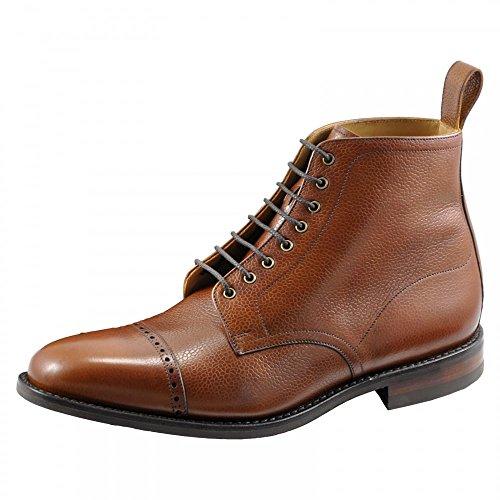 Loake Hyde Derby Mens Boot UK9 EU43 US9.5 Brown Grain
