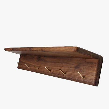 Amazon.com: YMJ - Perchero de latón con forma de nogal ...