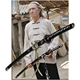 Hattori Hanzo Kill Bill Samurai Katana Sword w/ Devil