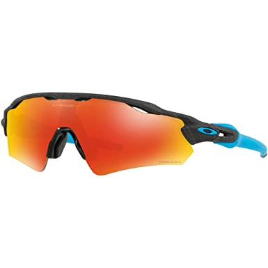 a44c4a2c10c3f Oakley Men s Radar Ev Path (a) Non-Polarized Iridium Rectangular Sunglasses