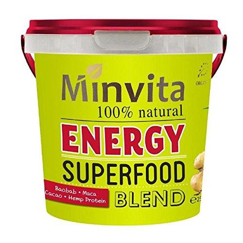 Minvita Energy Superfood Blend - 250g (0.55lbs)