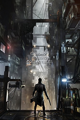 """Price comparison product image CGC Huge Poster - Deus Ex Mankind Divided PS3 PS4 XBOX 360 One - EXT021 (36"""" x 54"""" (91.5cm x 137 cm))"""