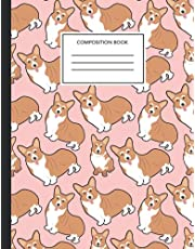 Corgi Composition Notebook: College Ruled, 8.5 x 11 Soft Cover, 120 Pages (Notebooks College Ruled)