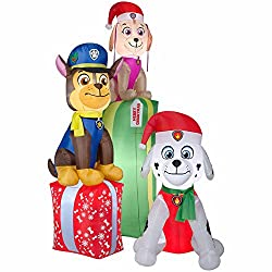 Gemmy Airblown Inflatable Paw Patrol Chase Marshal and Skye...