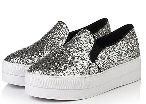 Shoes Leisure 35 YTTY Leisure Leisure Leisure YTTY 35 silvery Shoes YTTY Shoes 35 Shoes silvery YTTY silvery f0qtp