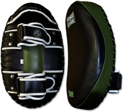 オーバル型GelTech Curved Thai Pad for Muay Thai , MMA , Kickboxing