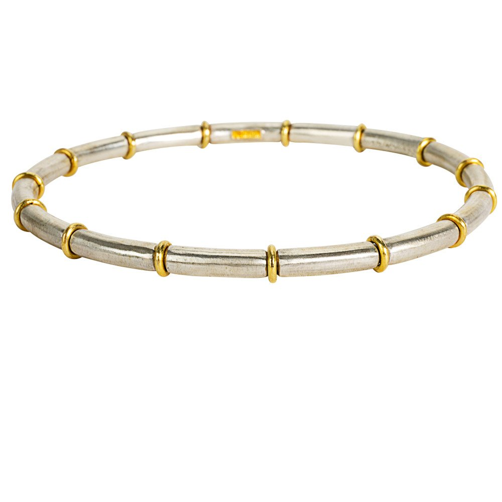 BRAND NEW Gurhan Midnight Bangle Bracelet in Sterling Silver