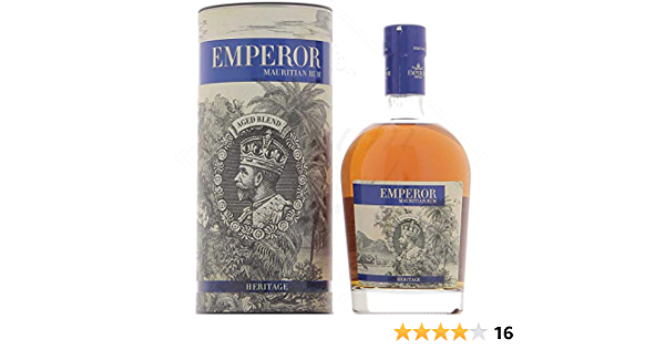Emperor Emperor Mauritian Rum Heritage 40% Vol. 0,7L In Giftbox - 700 ml
