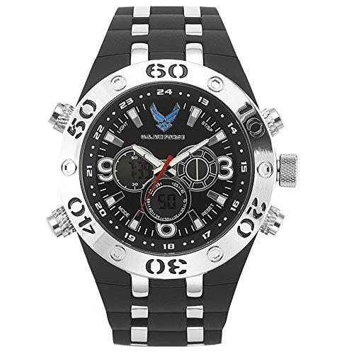 Wrist Armor Men's 37300007 Analog-Digital Display Quartz Black Watch