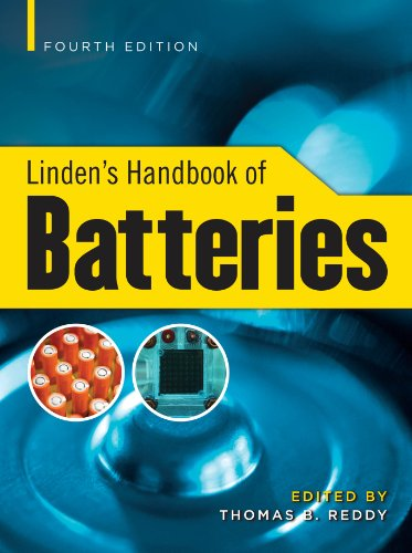 Linden's Handbook of Batteries, 4th Edition Pdf